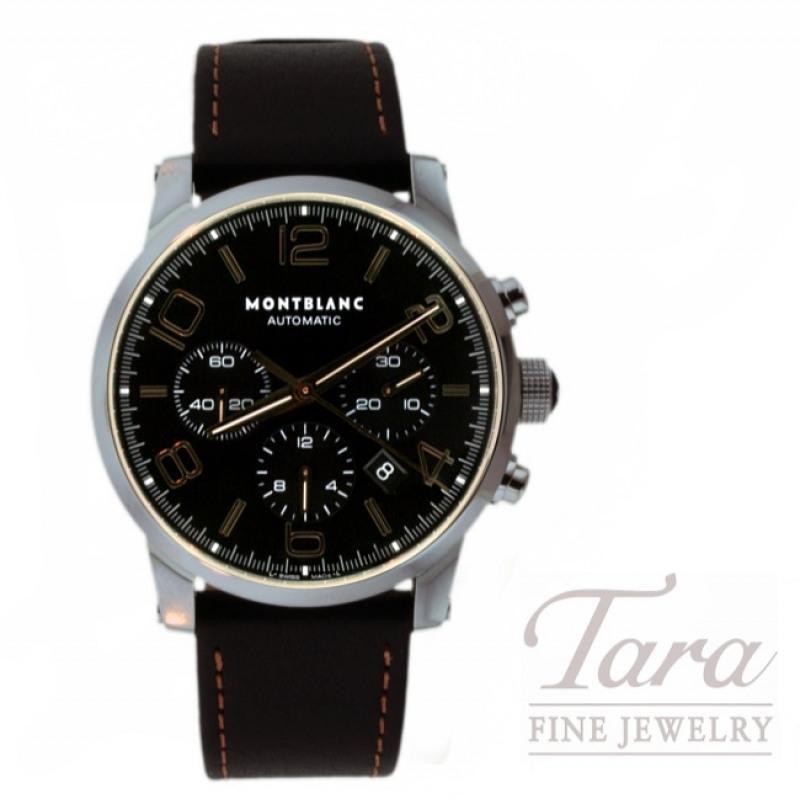 Montblanc Watch 43mm Timewalker Chronograph
