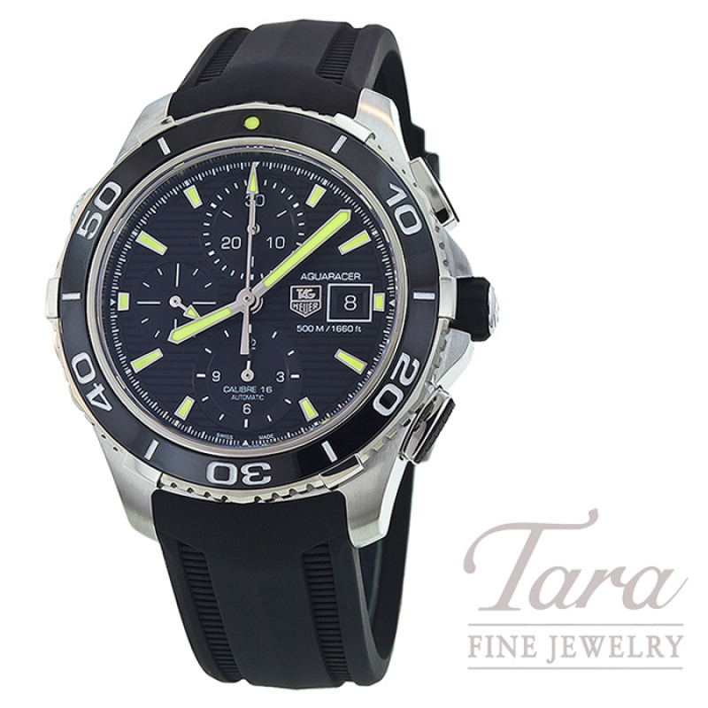 Tag Heuer Watch 43mm Aquaracer Chronograph