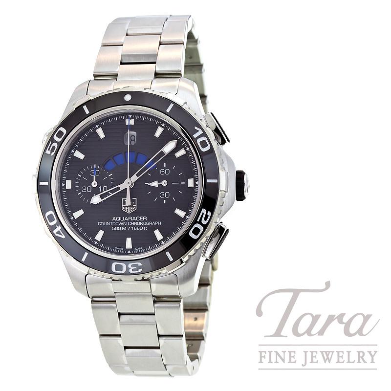 Tag Heuer Watch 43mm Aquaracer 500 Automatic Chrono
