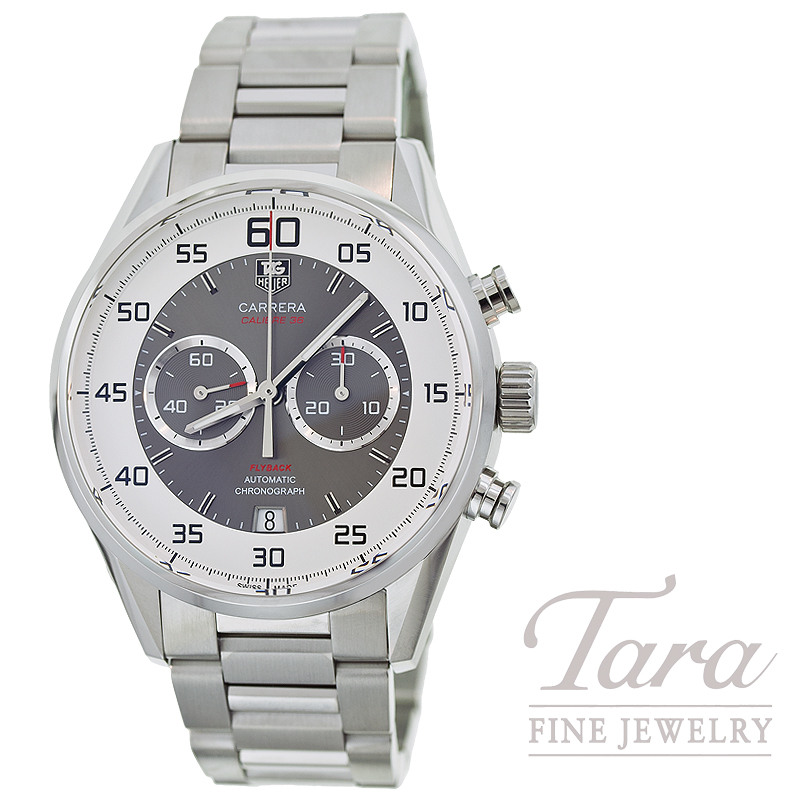 Tag Heuer Watch 43mm Chronograph Flyback