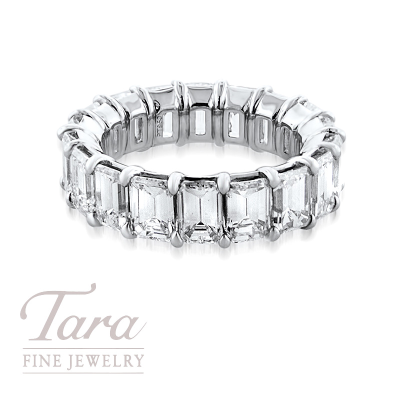 Diamond and Platinum Ring 8.77TDW