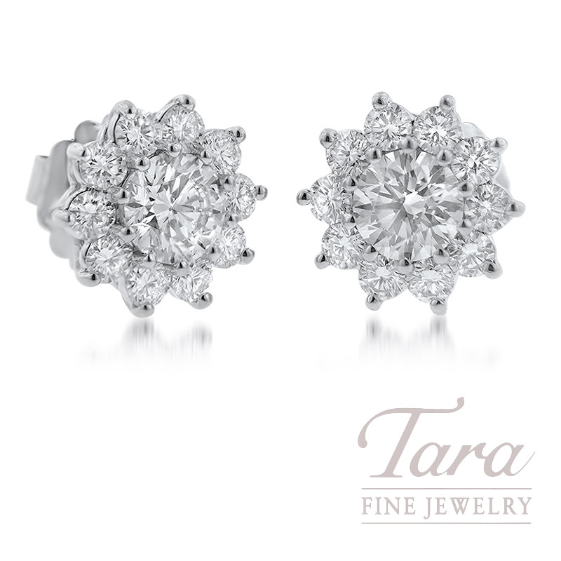 Forevermark Diamond Earrings, 2.05TDW