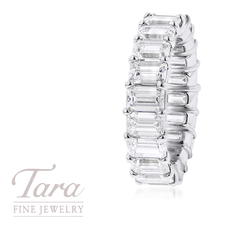 Platinum Diamond Ring 6.71TDW