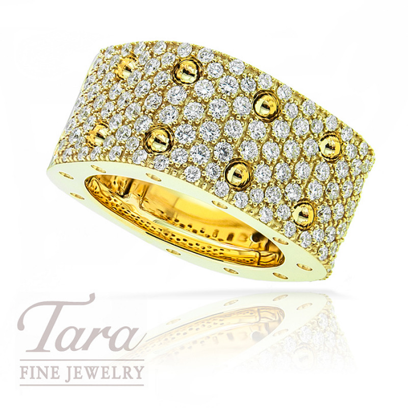 Roberto Coin 18K Yellow Gold Ring 2.03TDW