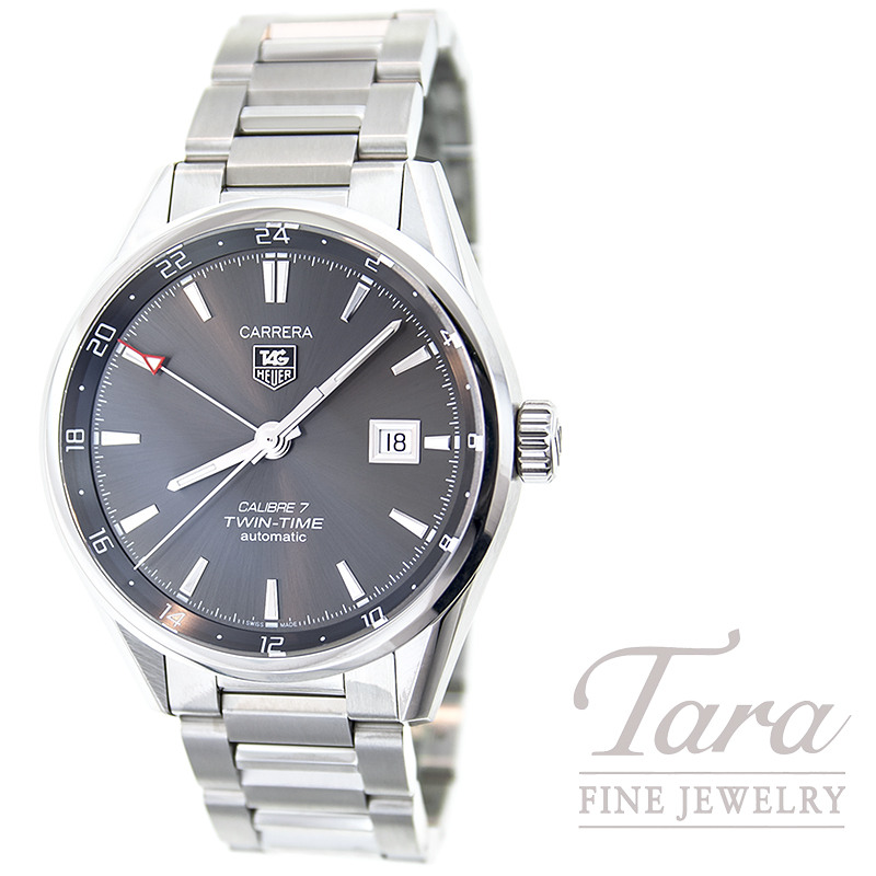 Tag Heuer Watch 41mm Carerra Twin Time Automatic
