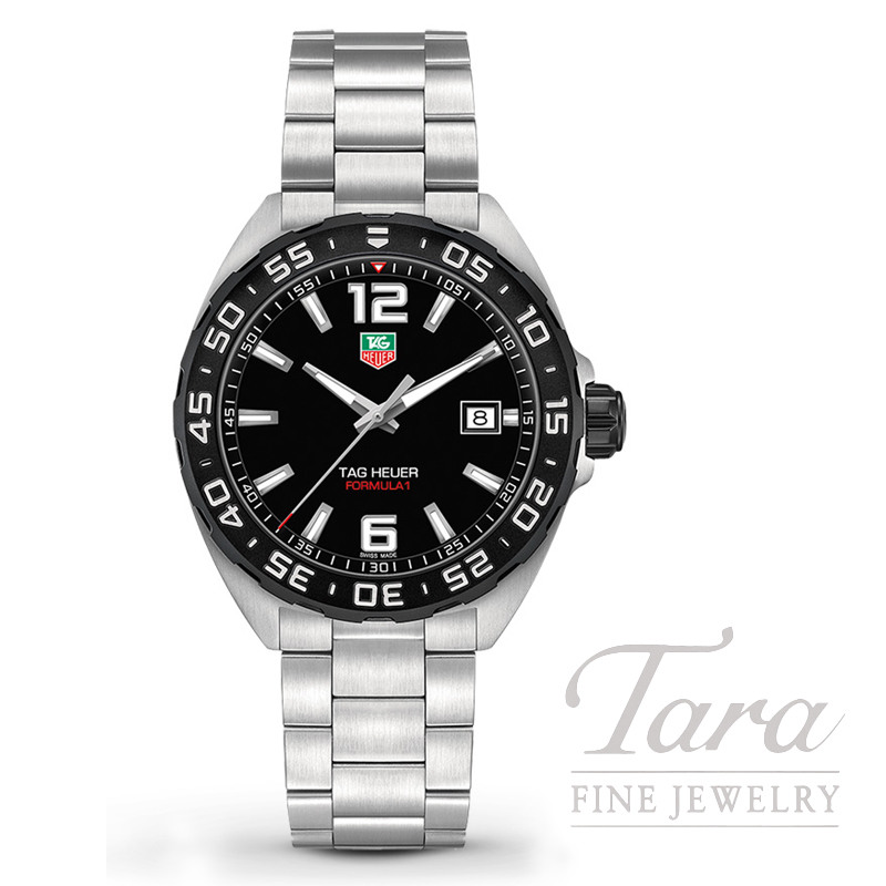 Tag Heuer 41mm Formula 1, Black Dial