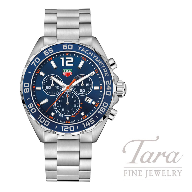 Tag Heuer Formula 1 Chronograph, Blue Dial