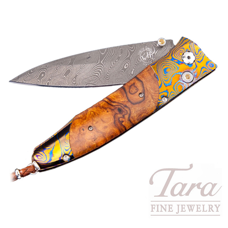 William Henry Gentac Aztec Pocket Knife