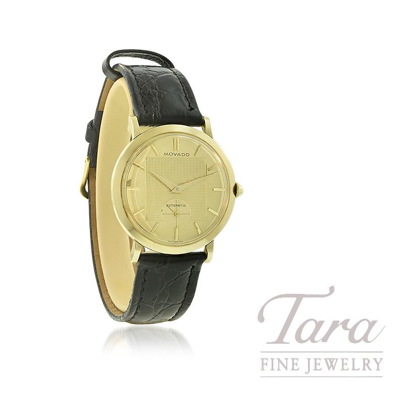 14K Yellow Gold Estate Movado Timepiece