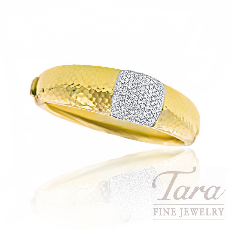 Roberto Coin Diamond Bracelet in 18K Yellow Gold, 2.76TDW