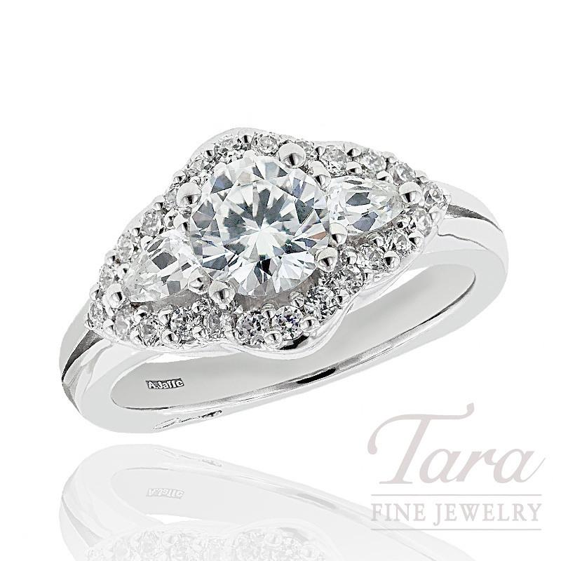A. Jaffe Diamond Ring, .75CT Diamond, .68TDW