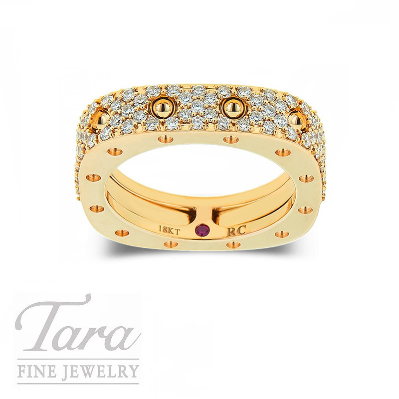 Roberto Coin Ring Rose Gold 18K .67TDW 7G