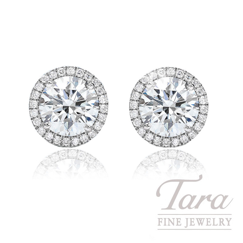 Forevermark Diamond Halo Earrings - Click for Available Sizes!