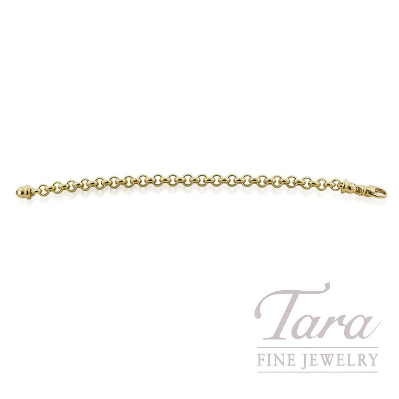 af9460e47780 18K Yellow Gold Link Bracelet