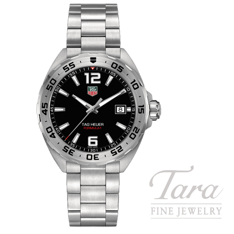 Tag Heuer 41mm Formula 1 Quartz, Black Dial