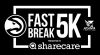Logo for 2020 Atlanta Hawks Fast Break 5K presented by Sharecare