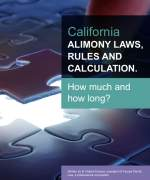 California Alimony Laws  e-book cover