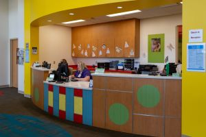 Pediatric & Internal Medicine waiting area