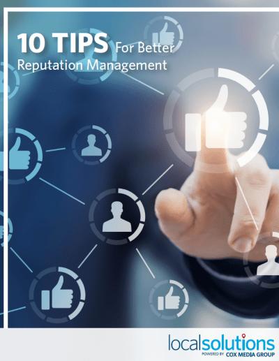 10 Tips for better reputation management