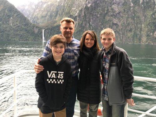 Rich Whiddon & Family headshot