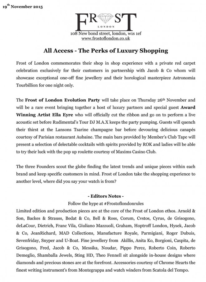 All Access - The Perks of Luxury Shopping