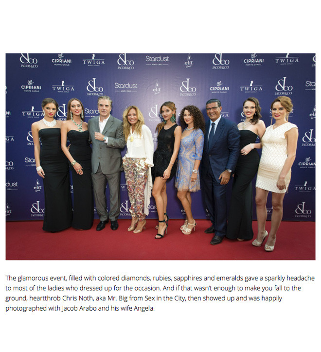 Jacob & Co Holds Magnificent Gala In Monaco