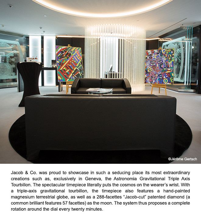 Jacob & Co. Partner of Montres Prestige?s New Boutique