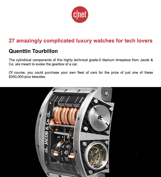27 amazingly complicated luxury watches for tech lovers