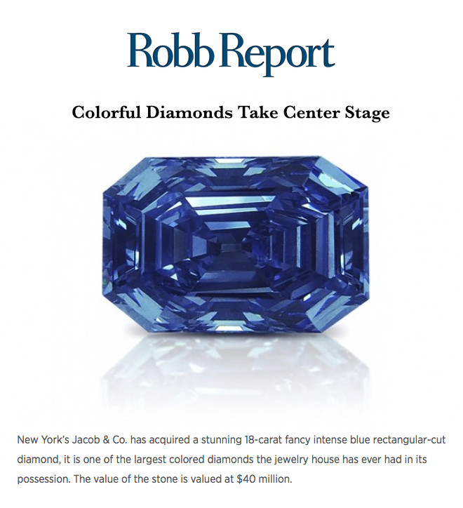 Colorful Diamonds Take Center Stage