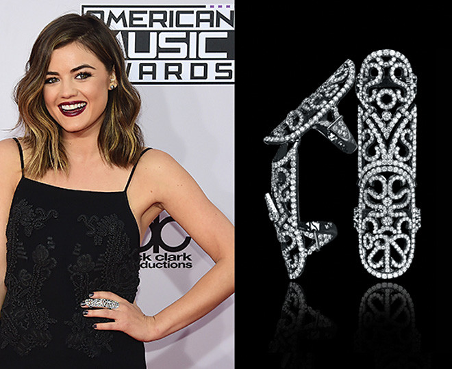 Jacob & Co. Dresses the AMAs