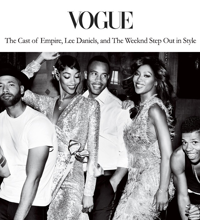 The Cast of Empire, Lee Daniels, and The Weeknd Step Out in Style