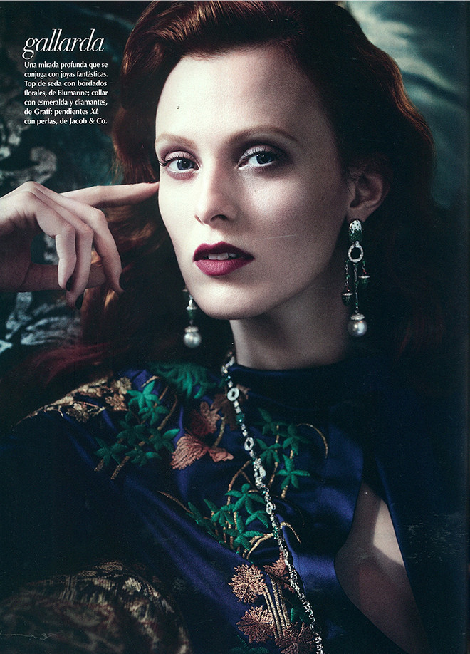 Jacob & Co. featured in Vogue Mexico