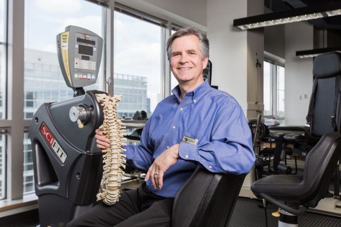 Image for An International Leader in Spine Rehabilitation